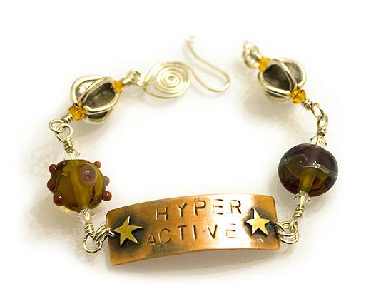 Hyperactive bracelet